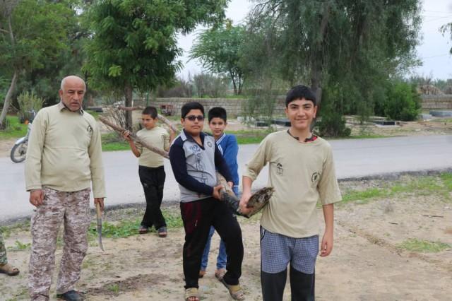 اردوی جهادی در آرامگاه نظرآقا