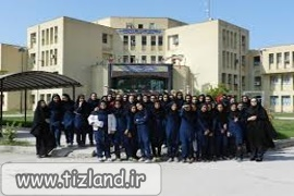 بازدید دانش آموزان مدرسه تیزهوشان دکتر عادلی از دانشگاه بهبهان