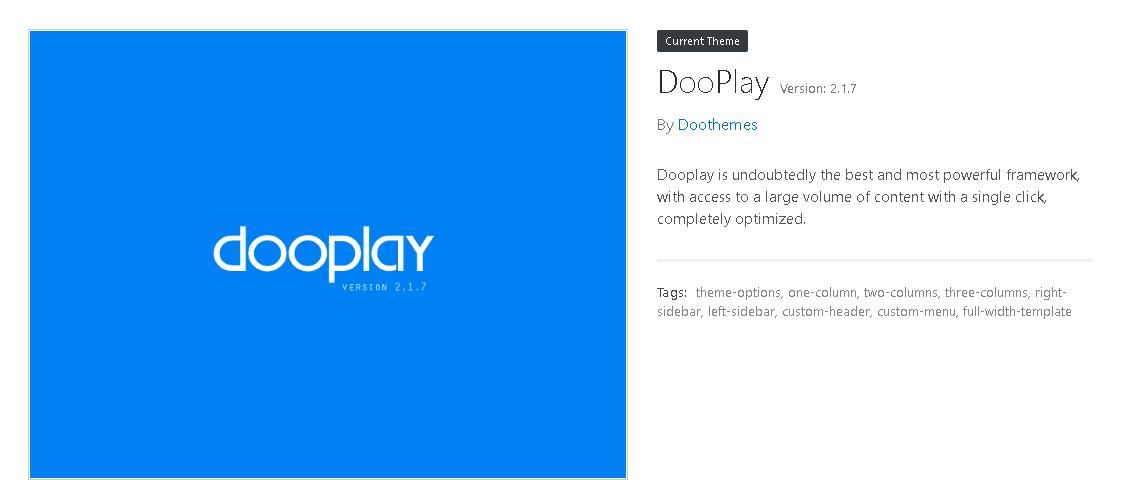 DooPlay Movies and TV Shows WordPress Theme -3