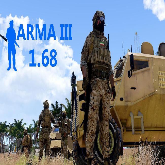 دانلود ورژن 1.68 ARMA 3 (اخرین و جدیدترین ورژن بازی,ورژن کلن)