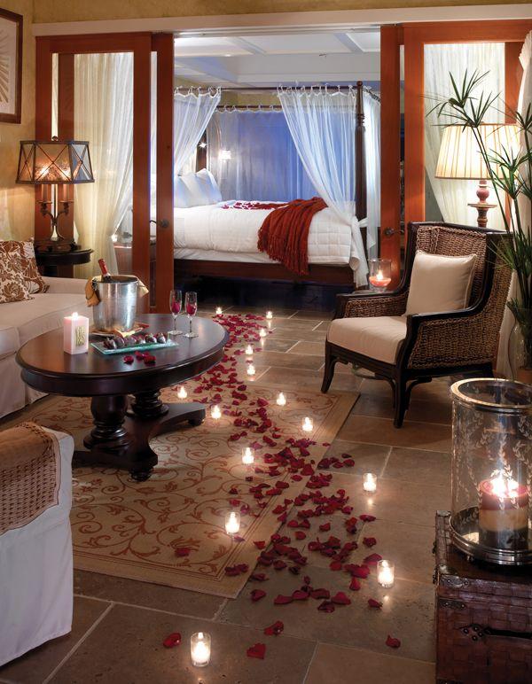اتاق خواب عاشقانه