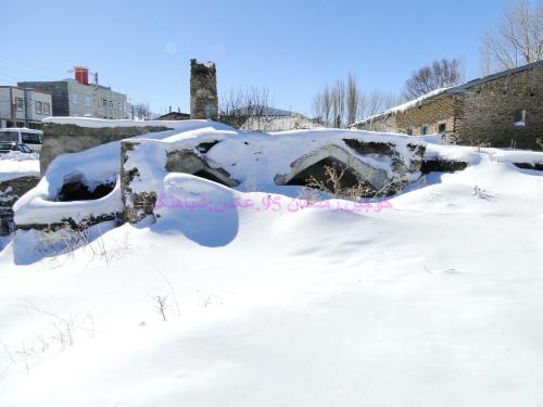 بارش برف سنگین در روستای خوجین ، خوجین. بارش برف سنگین ، کولاک در خوجین و خلخال ، بارش سنگین برف در خوجین و خلخال زمستان 95 . کوه سبلان از خوجین خلخال