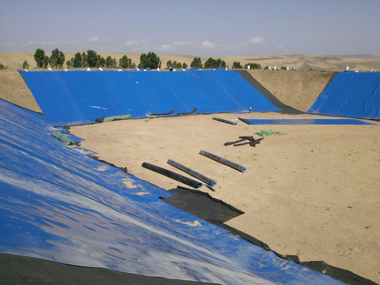 استخرهای ژئوممبران، راه حل اساسی حفاظ منابع آبی