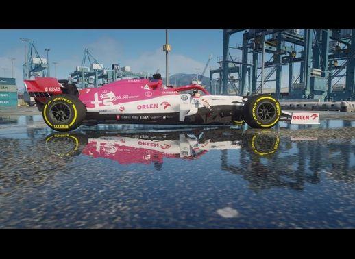 خودرو آلفارومئو C39 Formula One 2020 برای GTA V
