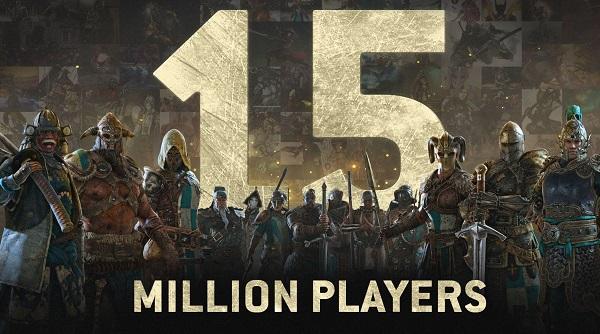 عنوان For Honor هم اکنون بیش از 15 میلیون بازیکن دارد