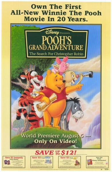 دانلود انیمیشن Poohs Grand Adventure 1997