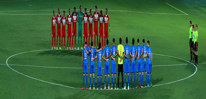گزارش تصویری متفاوت از بازی نساجی و استقلال
