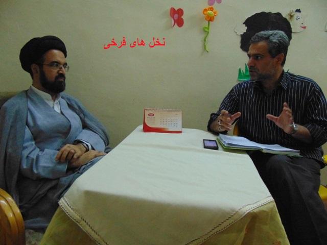 با ستارگان آسمان علم و دانش شهر فرخی (6) حجه الاسلام والمسلمین دکتر سید حسن قاضوی 46rc dsc06044