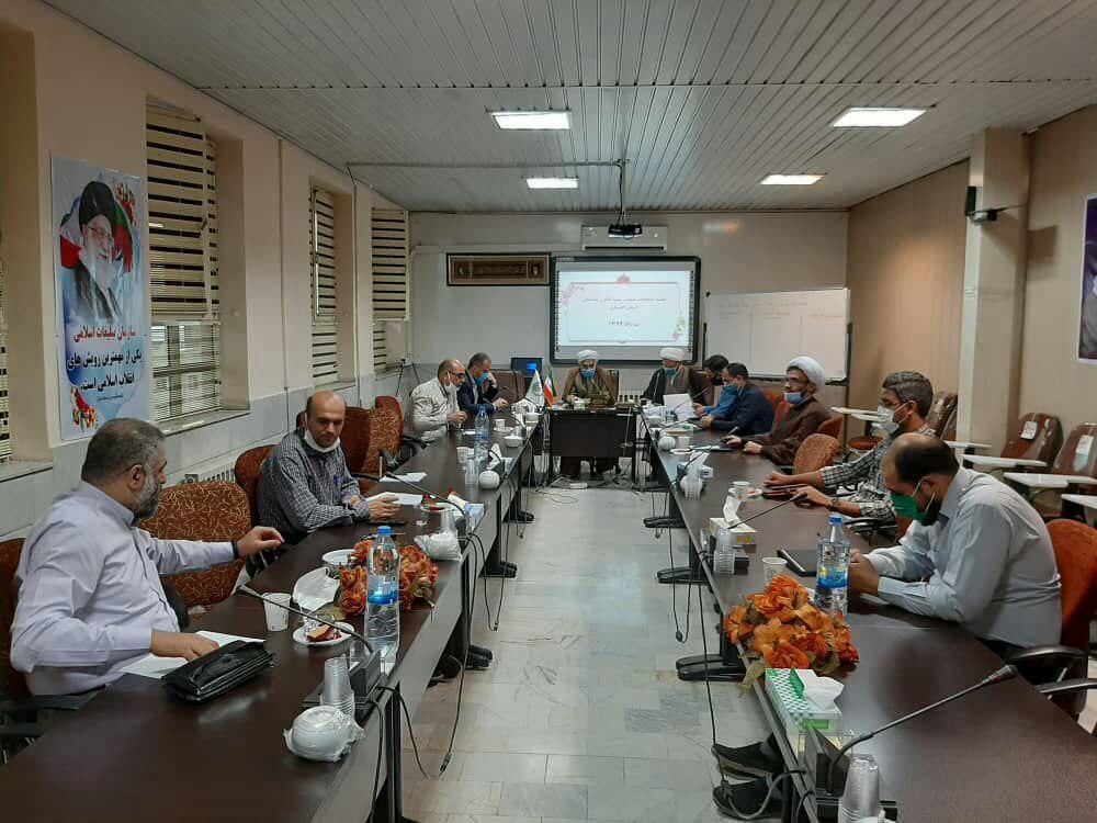 جلسه انتخابات هیئت رئیسه کانون مداحان استان گلستان برگزار شد