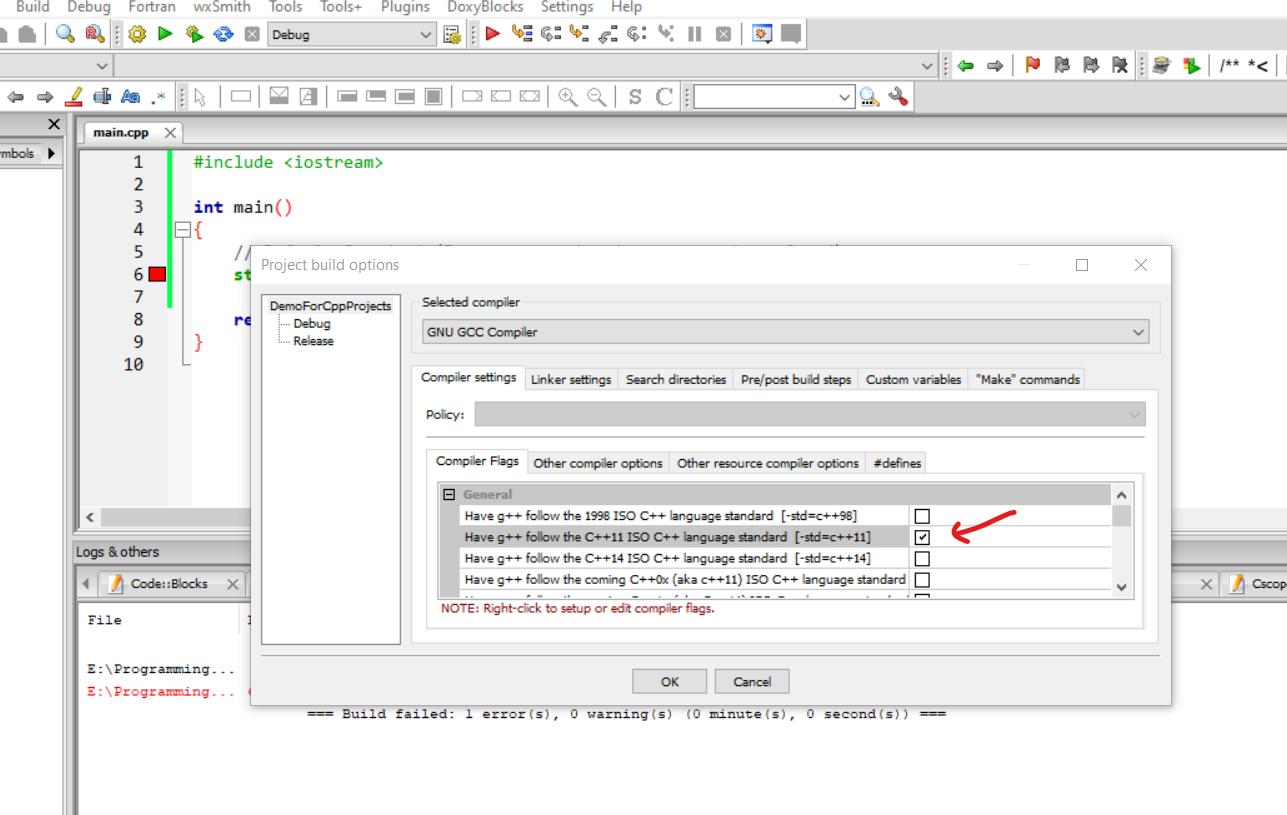4dfx 4 - خطاهای کتابخانه و اجرا نشدن توابع در ++c و کد بلاکس