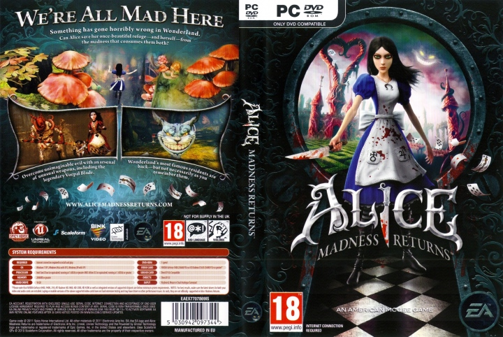 دانلود بازی Alice Madness Returns The Complete Collection برای PC