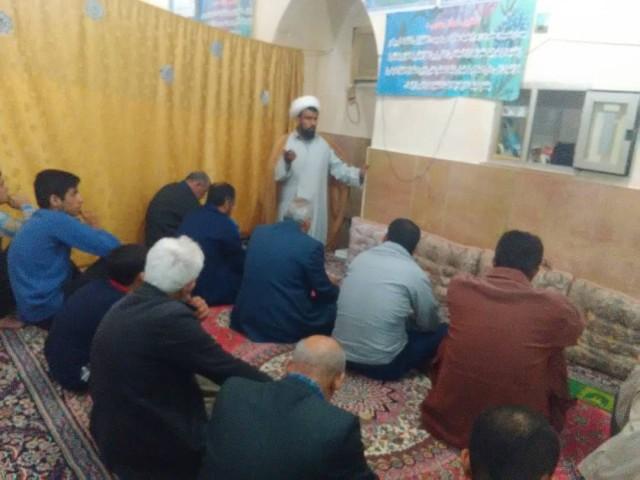 برگزاری نشست بصیرتی سیاسی در مسجد امام خمینی(ره)