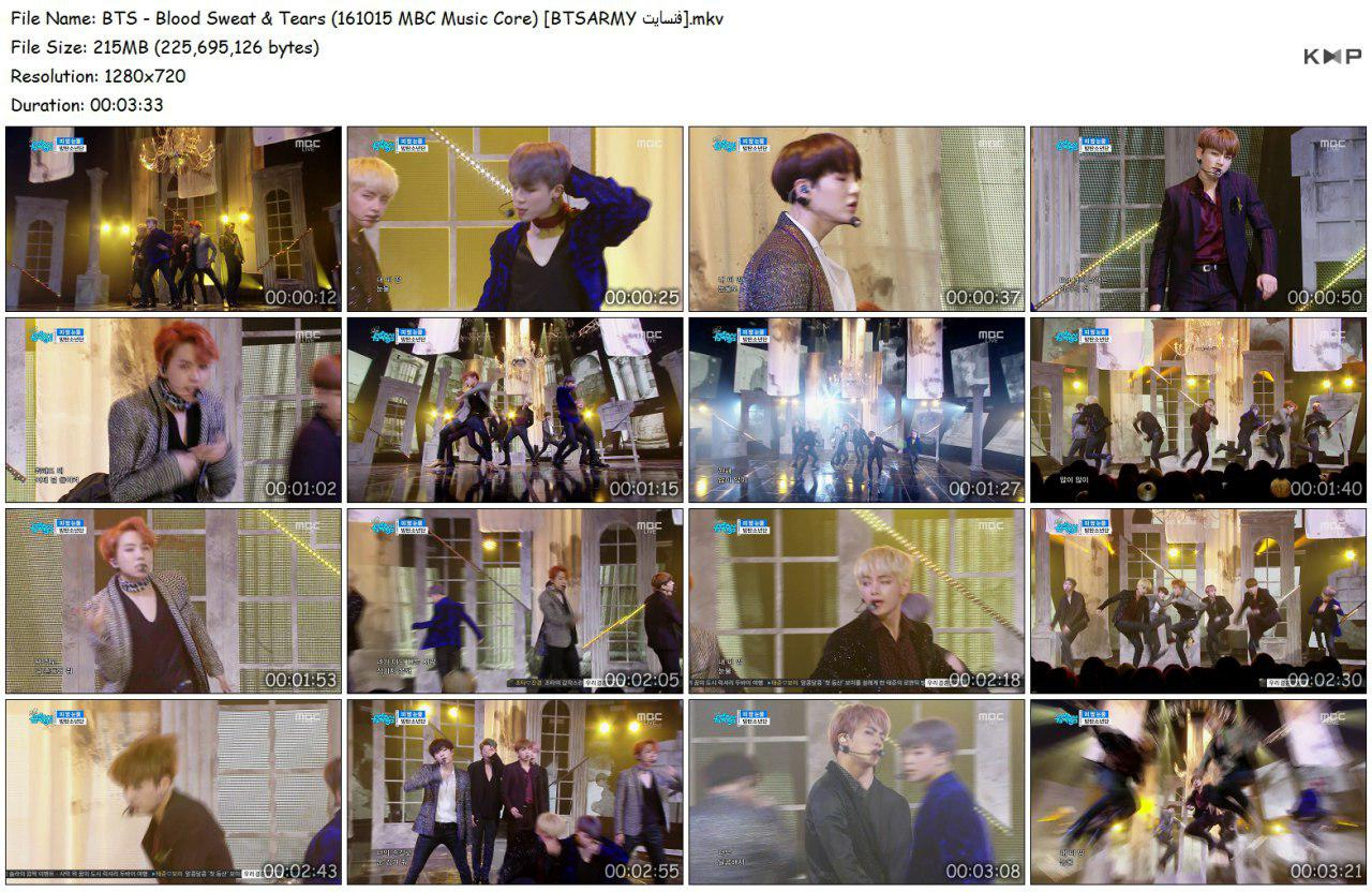 4it6 photo 2018 06 16 18 33 08 - Video/Link] BTS Performance Music Show 2nd Full Album 'Wings' Blood Sweat & Tears]