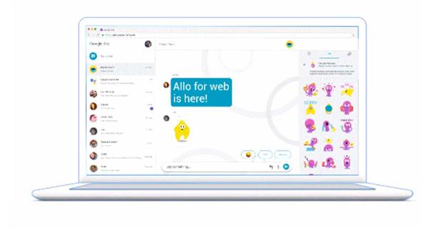 نسخه دسکتاپ (تحت وب) Google Allo برای کاربران اندرویدی این اپ منتشر شد!