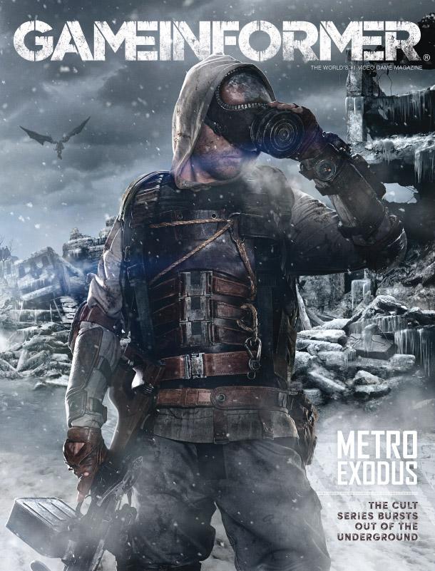 Metro Exodus Game Informer Cover