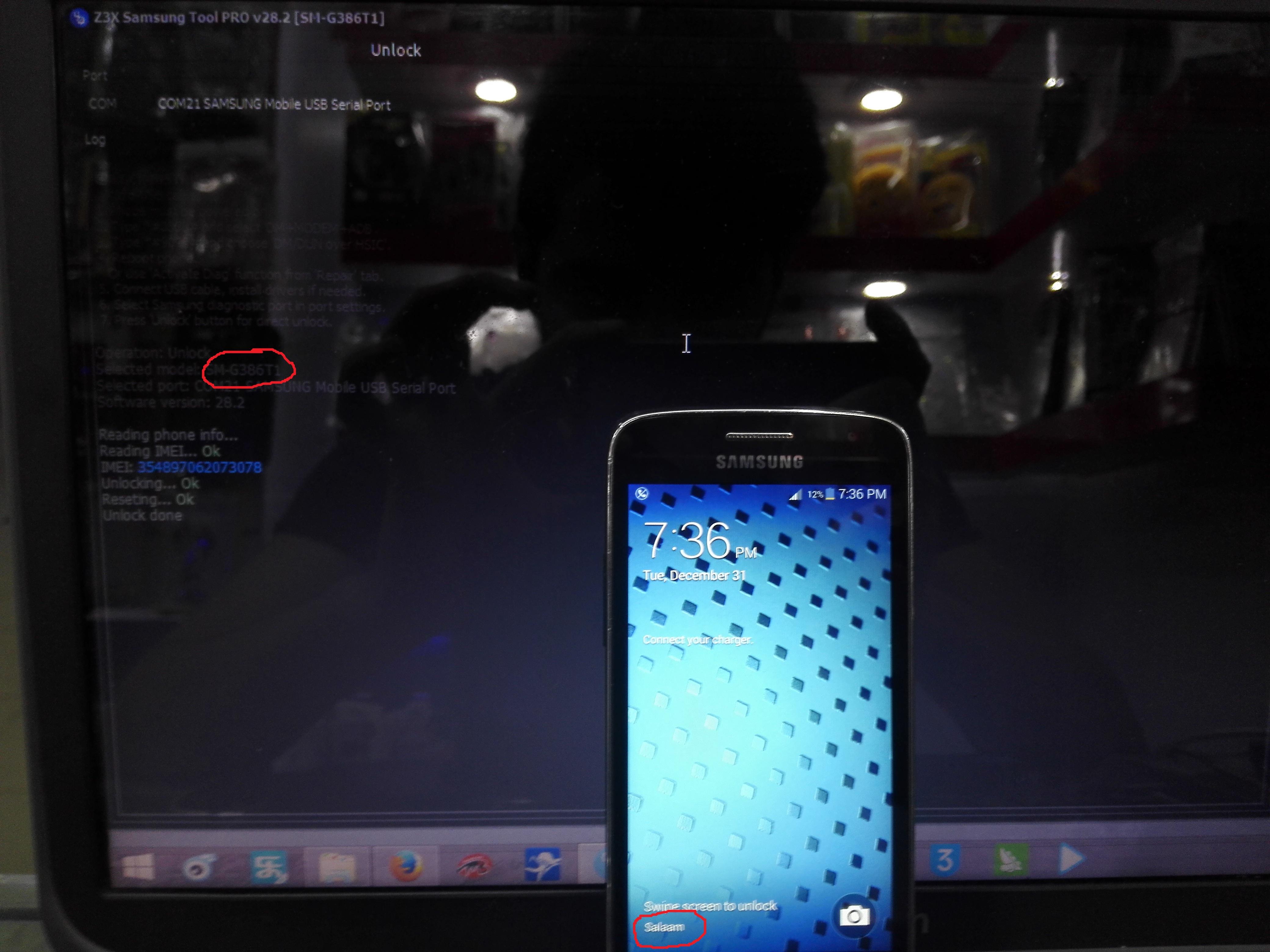 Samsung Galaxy Avant (Metro PCS) SM-G386T1 Unlock Done - GSM