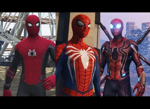 شخصیت مرد عنکبوتی برای GTA V