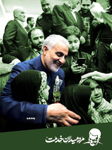 عکس سردار سلیمانی در سوریه