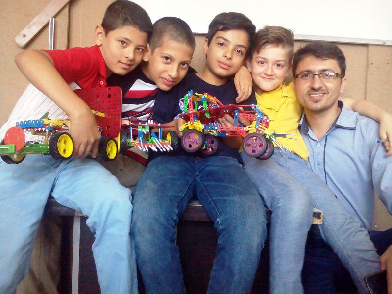 مهندس جعفر عالی نژاد مدرس رباتیک