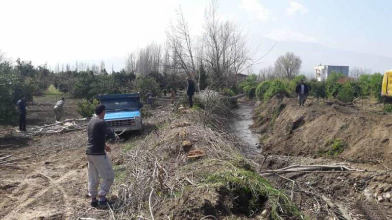 شناسایی 1760 مورد تصرفات و آزادسازی 132 هکتار از تجاوز به بستر و حریم رودخانه های استان در سال 98