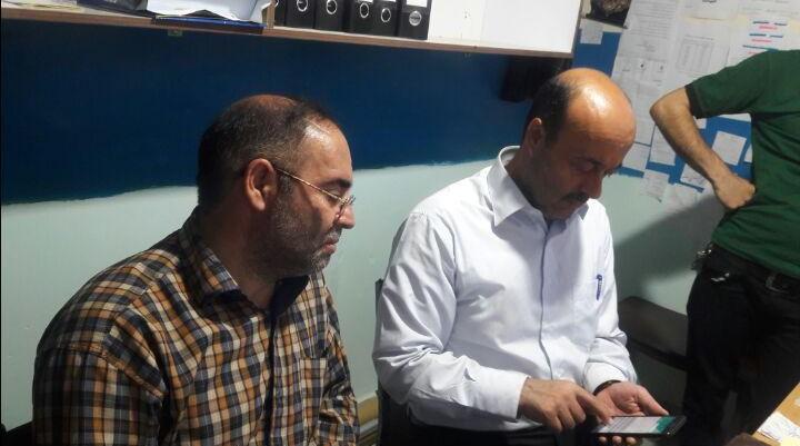 بازدید رئیس سازمان جهاد کشاورزی از مراکز خرید گندم شهرستان گرمی