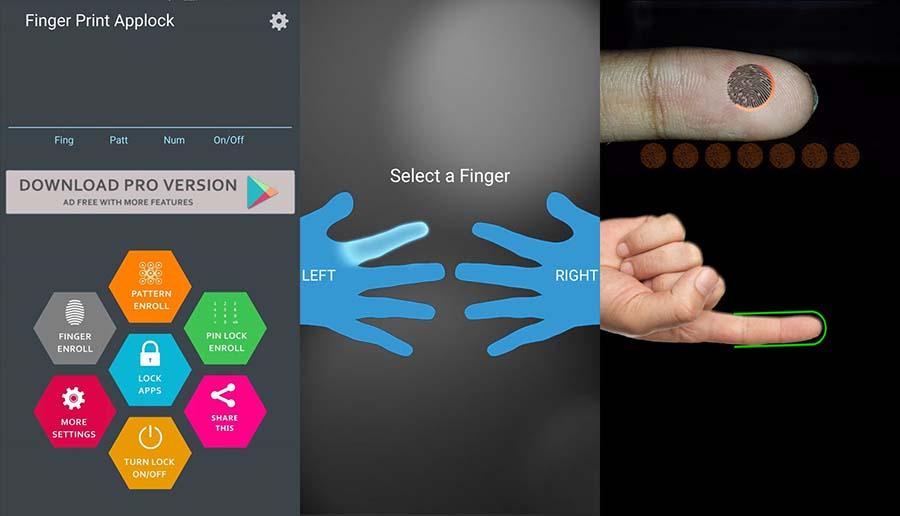 app lock fingerprint unlock اپلیکیشن قفل برنامه اندروید