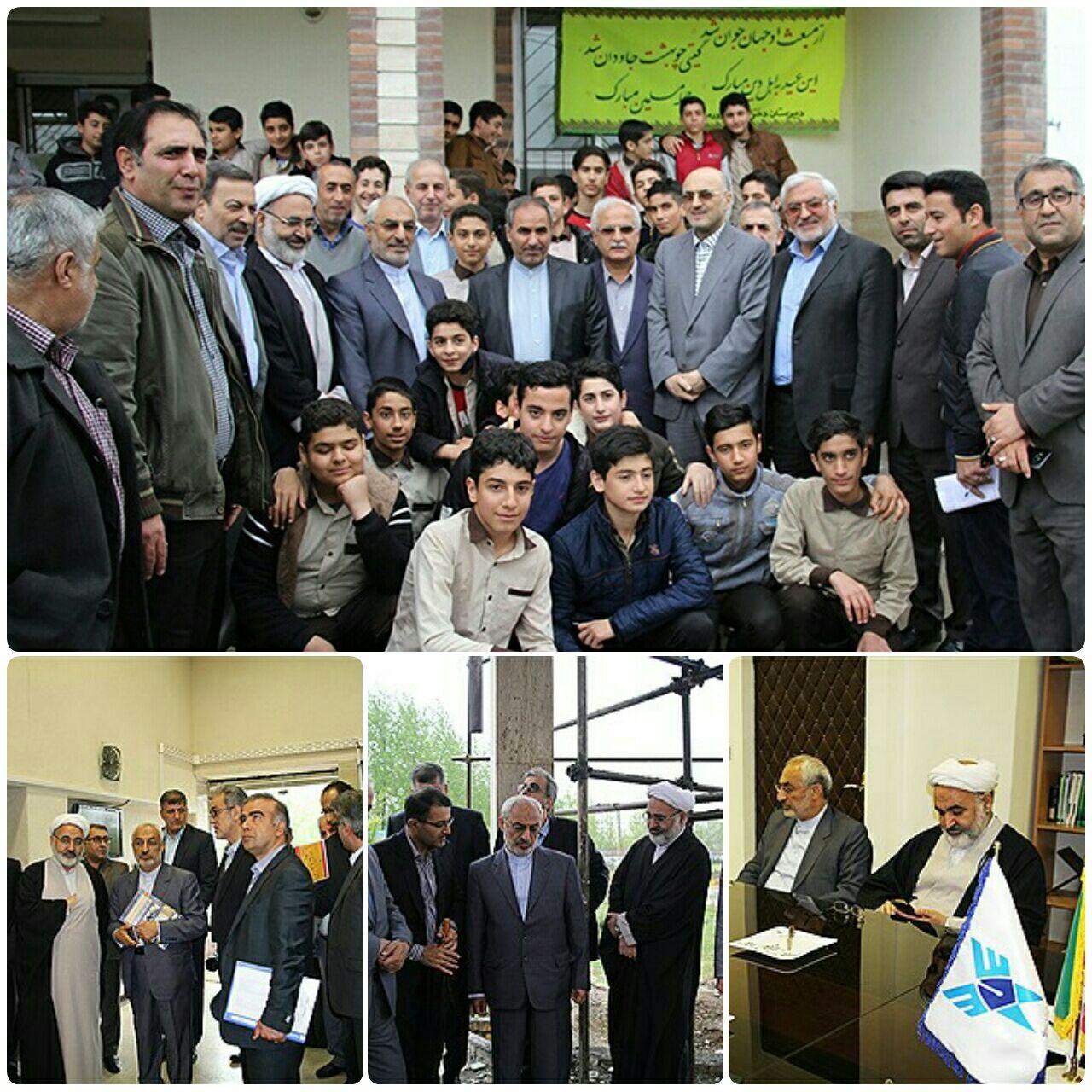 بازديد از مراكز آموزشي استان گيلان همراه با اعضاي كميسيون آموزش و تحقيقات مجلس