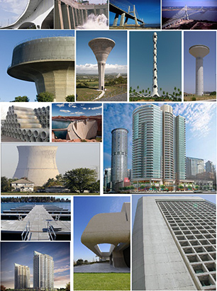 کاربرد بتن در ساختمان سازی