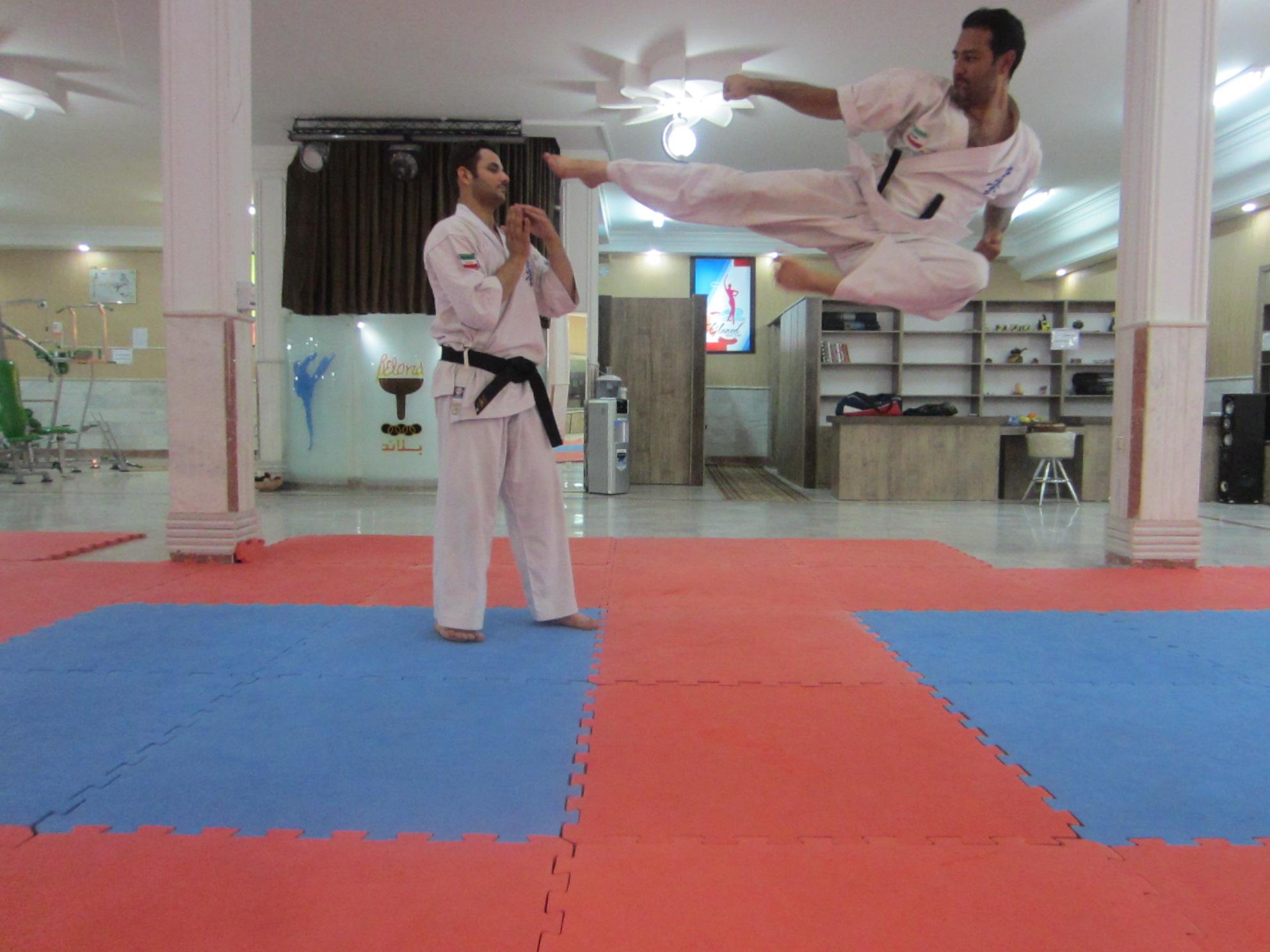 عکسهای نوشته کاراته کیوکوشین کاراته ماتسوشیما خراسان رضوی