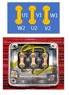 سربندی موتور به صورت مثلث