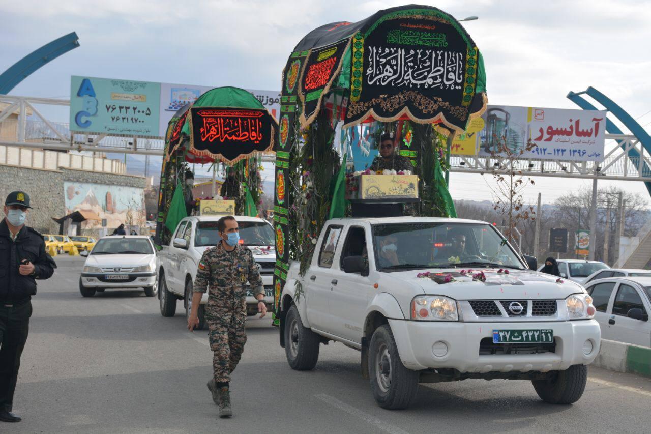 دو شهید گمنام در دماوند تشییع و تدفین شدند
