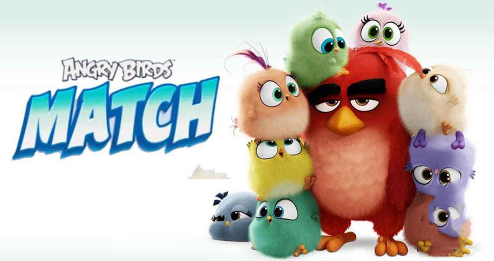 Angry Birds Match ، نسخه جدید پازلی پرندگان خشمگین