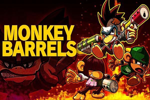 بازی Monkey Barrels