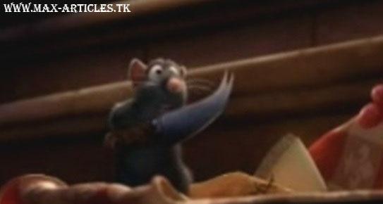 توهین موش سرآشپز