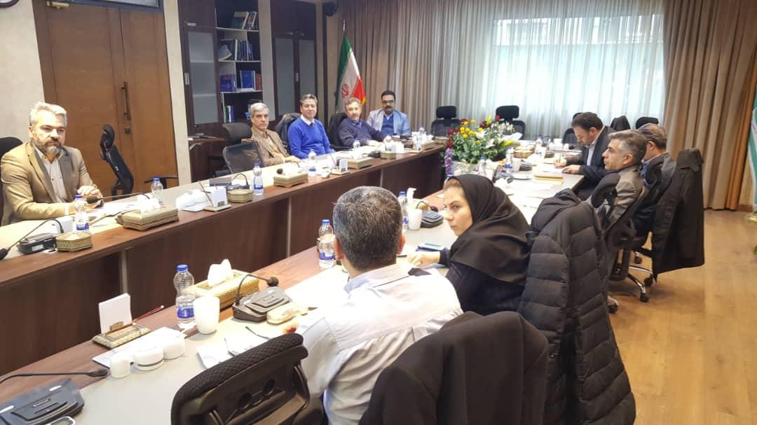 جلسه جمع بندی اولین رویداد مشاوره به کسب و کار
