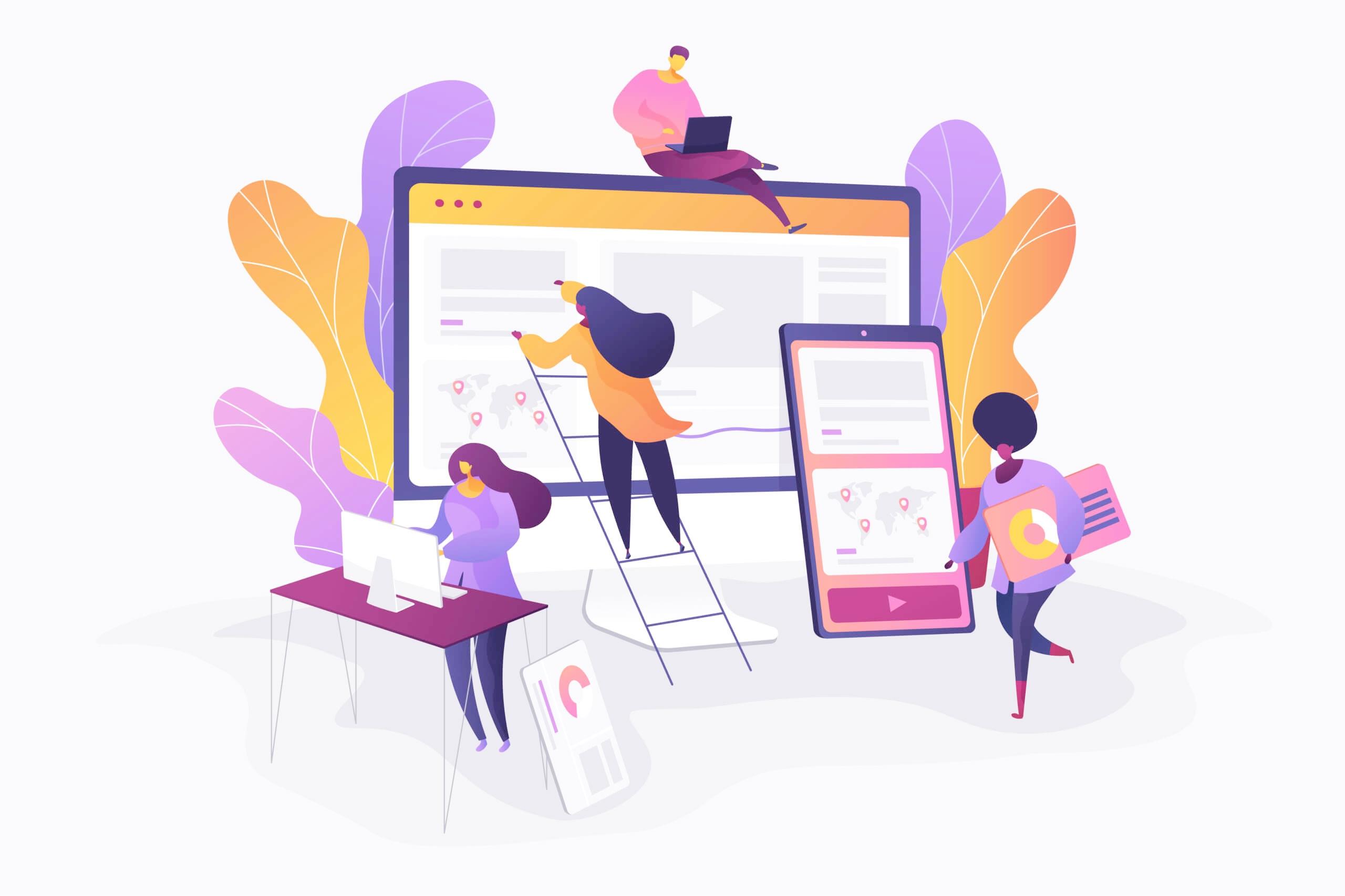معرفی سایت های معتبر به منظور ایده گرفتن UI