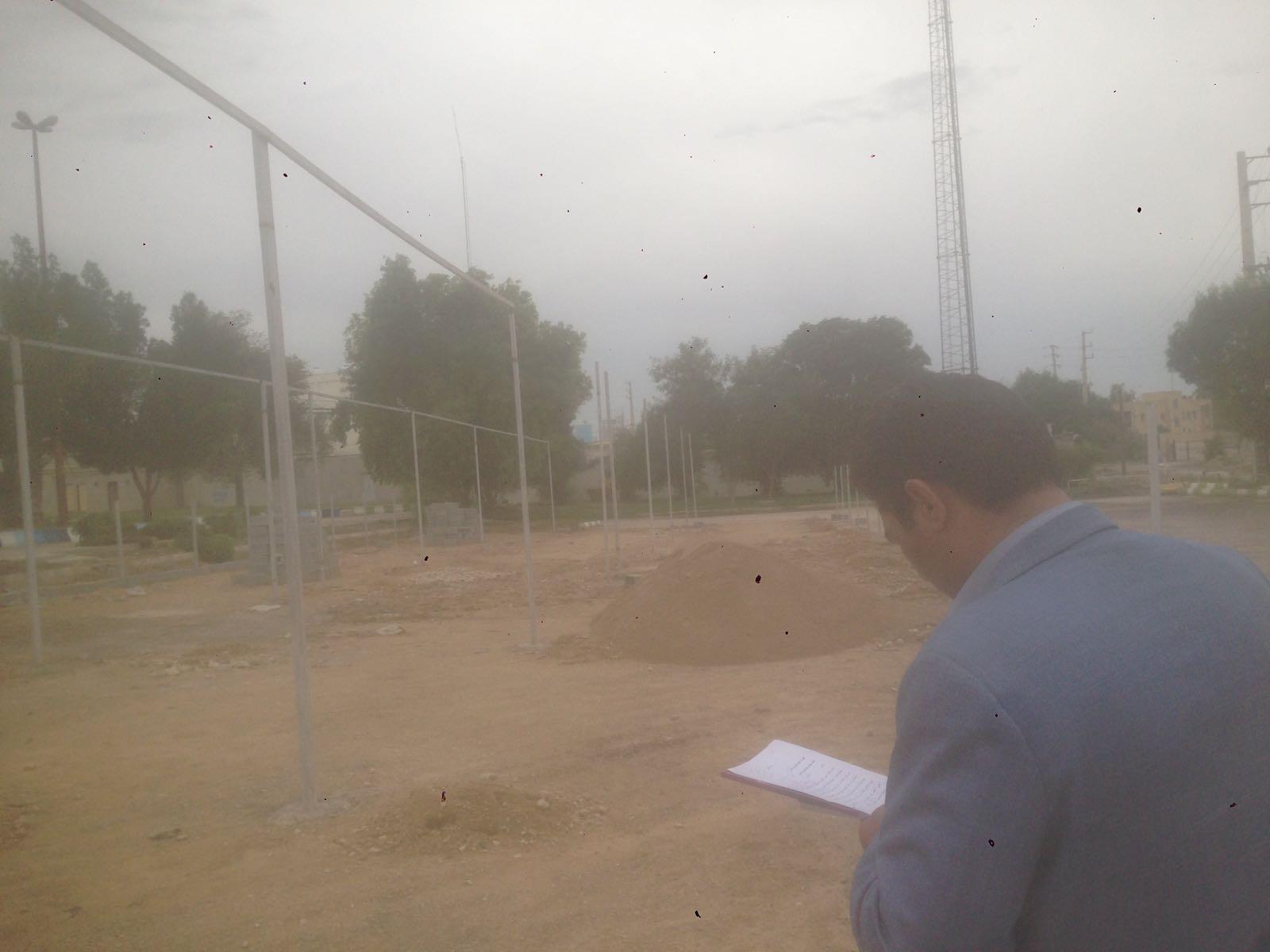 علی پور جم: هدف اصلي ما از احداث اين نهالستان، توليد گل و نهال جهت اجرا در فضاي سبز سطح شهر مي باشد