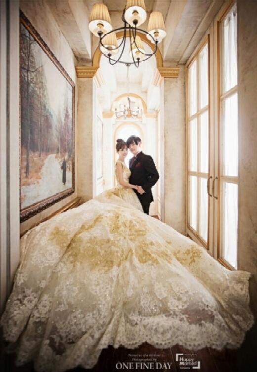 عکس های عروسی moon hee jun و soyul.