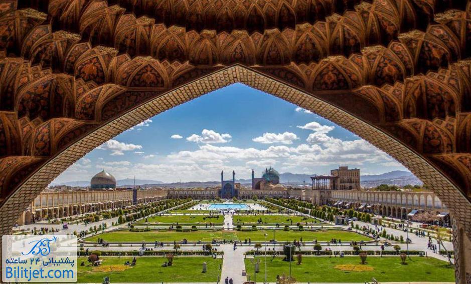 شهر زیبای اصفهان مناسب برای سفر داخلی