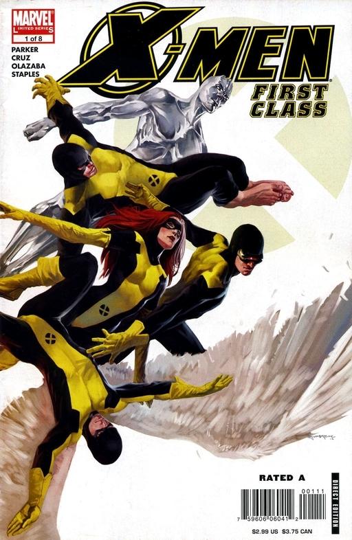 كميك x-men first class