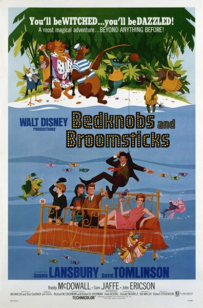 دانلود فیلم Bedknobs And Broomsticks 1971