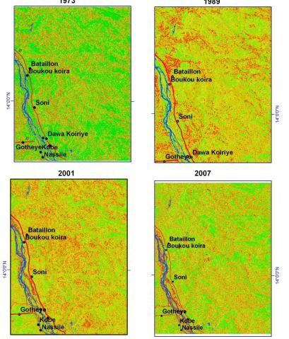 دانلود رایگان پایان نامه دکتری: ارزیابی و پایش بیابان زایی و فرسایش زمین با RS و GIS