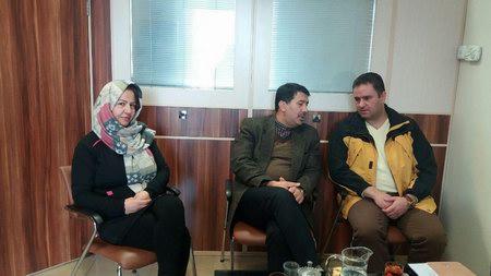 نشست رییس هیات شطرنج شمیرانات و رییس ورزش منطقه یک شهرداری