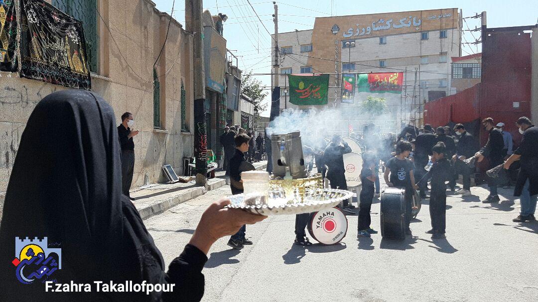 تاسوعای حسینی در کرمانشاه به روایت تصویر