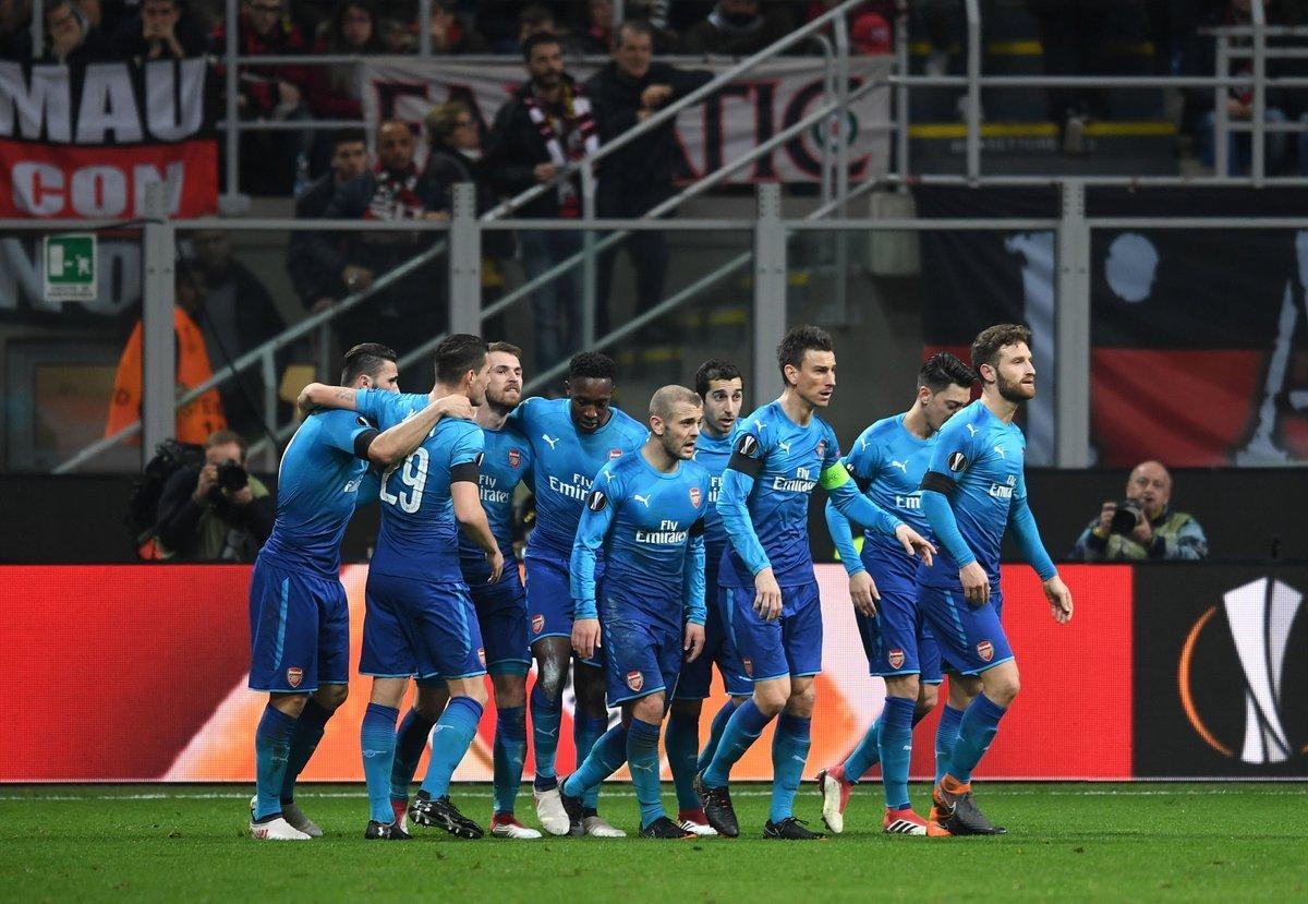 Milan 0-2 arsenal