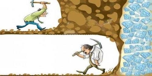 با تلاش و مداومت است که میتوان به هدف رسید.