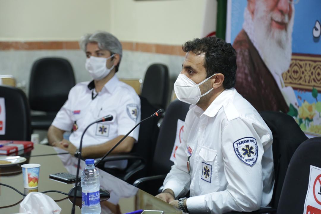 برگزاری اولین نشست خبری اورژانس پیش بیمارستانی نیشابور