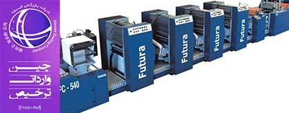 آشنایی با صنعت چاپ , واردات انواع تجهیزات چاپ و دستگاه چاپ