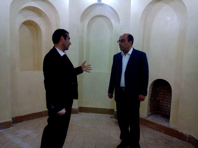 بازدید فرماندار سلسله از قلعه مظفری