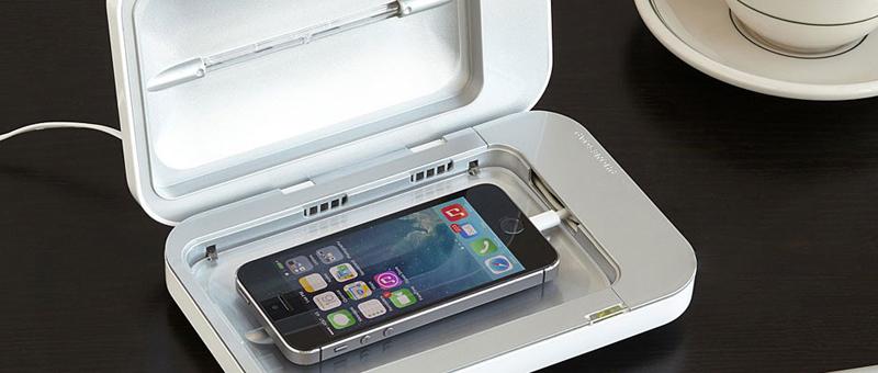 هدایای تبلیغاتی دستگاه استریل موبایل